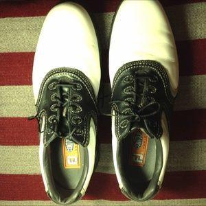Footjoy Mens Contour Series 54014 Size 12 White